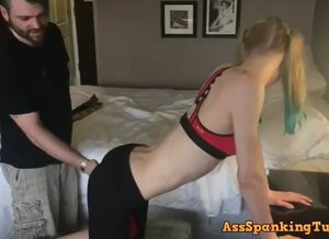 Spanking young men
